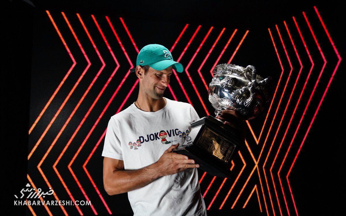 نواک جوکوویچ (قهرمانی اپن استرالیا 2021)