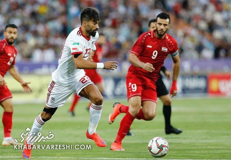 فهرست تیم ملی سوریه مقابل ایران مشخص شد