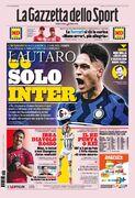 روزنامه گاتزتا| لائوتارو، اینتر انفرادی