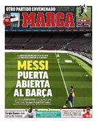 روزنامه مارکا| مسی درها را در بارسلونا باز کرد