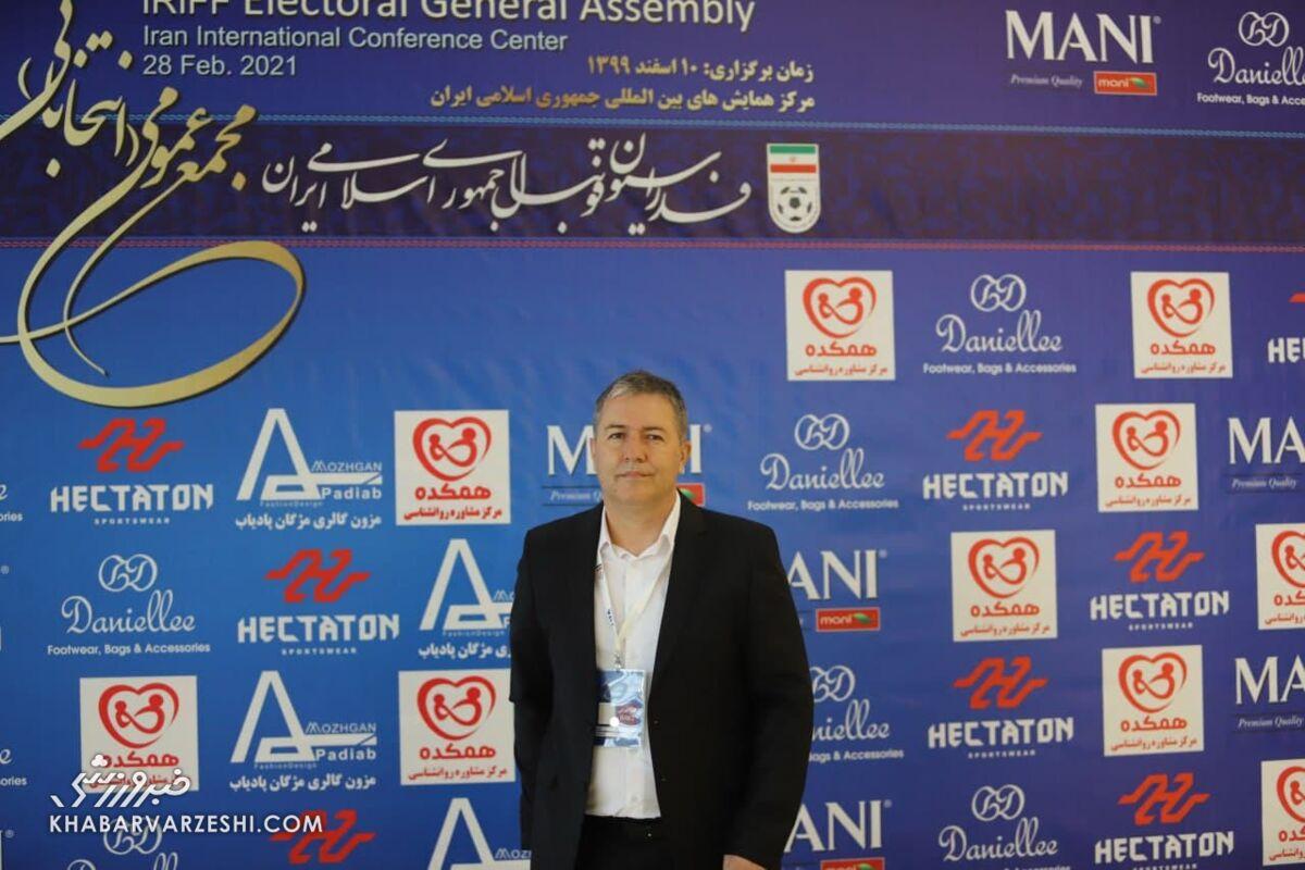 دراگان اسکوچیچ در انتخابات فدراسیون فوتبال