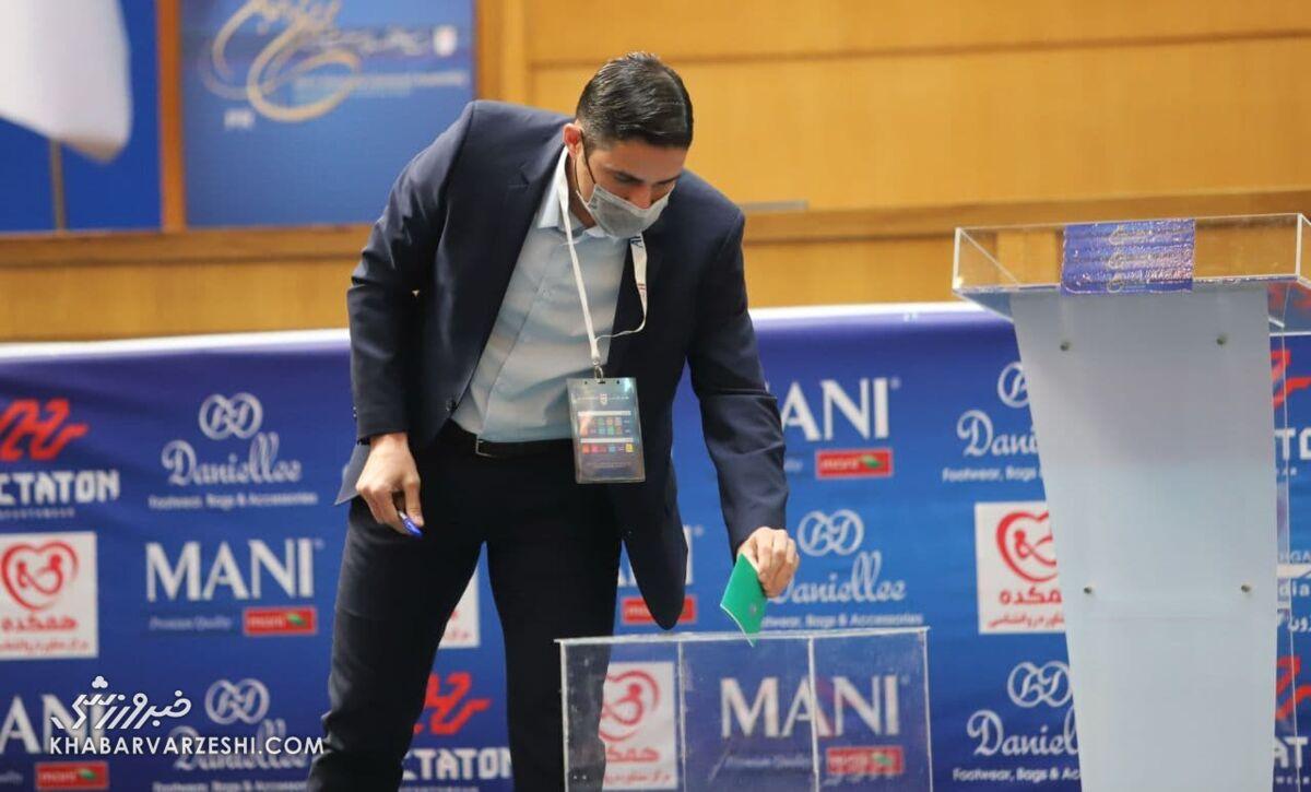 واکنش هاشمیان درباره آرای انتخابات خطاب به کریمی و مهدویکیا/ تصویر ویژهای که وحید منتشر کرد