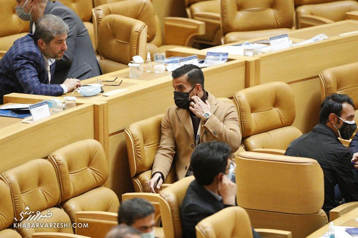 احسان حاج صفی (انتخابات فدراسیون فوتبال - ۱۳۹۹)