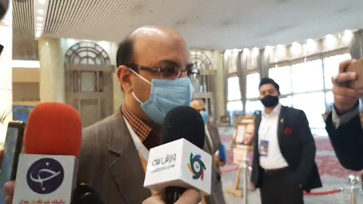 ویدیو| واکنش معاون وزیر ورزش به کنایههای علی کریمی
