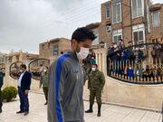 تصویری از حمایت هواداران استقلال در رفسنجان