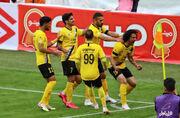 گزارش تصویری| پیروزی طلاییپوشان با تک گل شهباززاده مقابل گل گهر