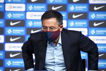رئیس بارسلونا بازداشت شد/ پای مسی در میان است!
