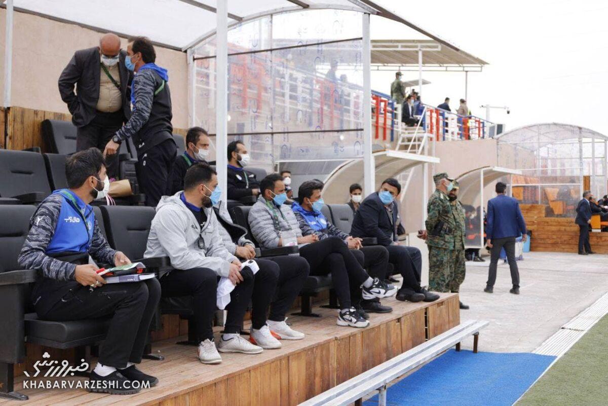 ویدیو  مرفاوی: به نظرم سوتهای داور متعادل نبود