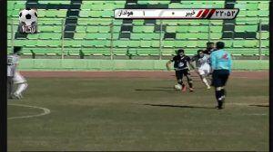 ویدیو| خلاصه بازی خیبر خرم آباد ۱-۱ خوشه طلایی ساوه