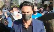 ویدیو| ورود فرهاد مجیدی به باشگاه استقلال برای عقد قرارداد