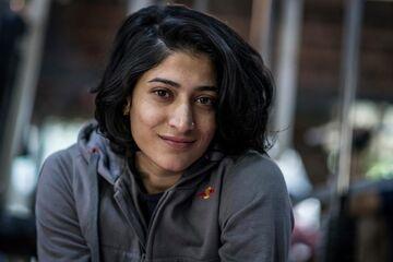 دختر برنزی هندیها در آرزوی فتح المپیک