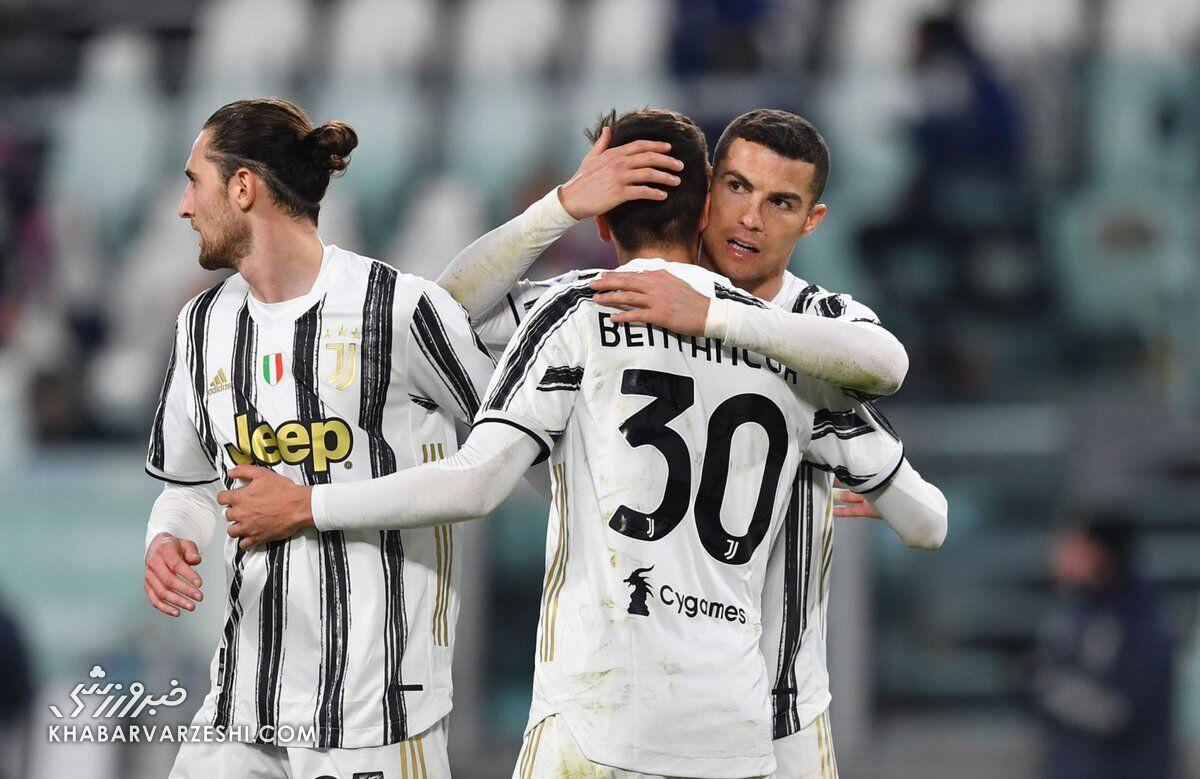 رونالدو در صدر جدول گلزنان سری آ ایتالیا