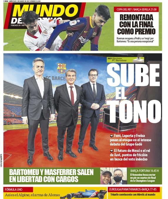 روزنامه موندو| صدا را بالا ببر