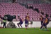 بارسلونا ۳ - سویا صفر/ کاتالانها با کامبک فینالیست شدند