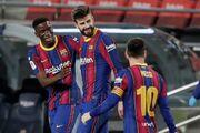 ویدیو| صعود بارسلونا به فینال حذفی اسپانیا با کامبک مقابل سویا