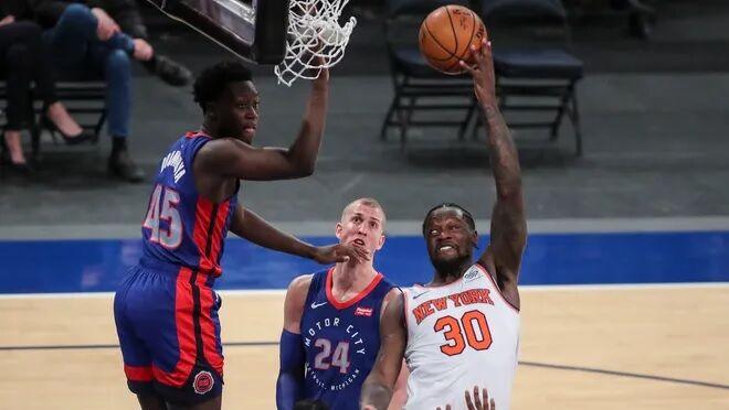 ویدیو| خلاصه بسکتبال نیویورک نیکس - دیترویت پیستونز