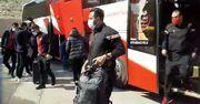 ویدیو| ورود بازیکنان نساجی به ورزشگاه یادگار امام تبریز