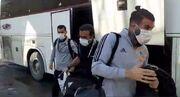 ویدیو| ورود بازیکنان تراکتور به ورزشگاه یادگار امام تبریز