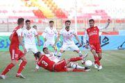 گزارش تصویری| پیروزی خفیف تراکتور مقابل نساجی مازندران