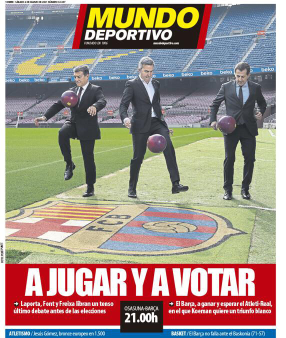 روزنامه موندو| بازی و رأی