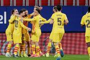 اوساسونا صفر - بارسلونا ۲/ برتری کاتالانها با دو پاس گل مسی