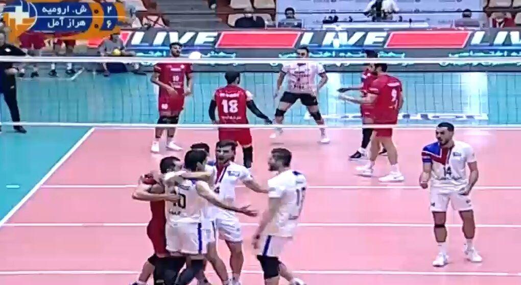 ویدیو| خلاصه والیبال شهرداری ارومیه - هراز آمل