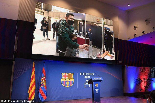 ویدیو| حضور لیونل مسی در انتخابات بارسلونا