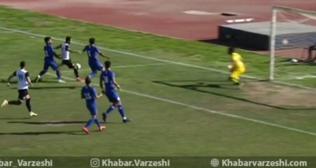 ویدیو| خلاصه بازی استقلال ملاثانی ۱-۱ شاهین بوشهر