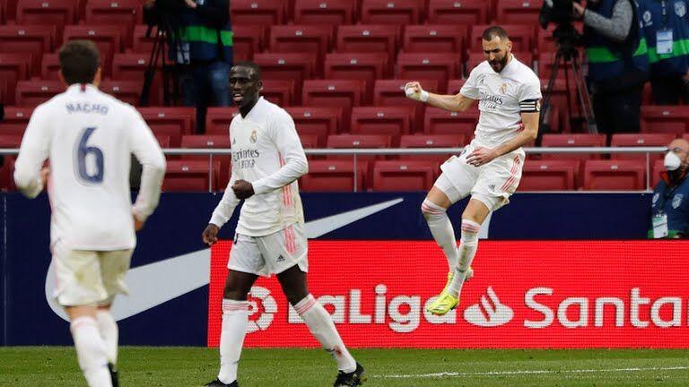 ویدیو| خلاصه دیدار اتلتیکومادرید ۱-۱ رئال مادرید
