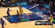 ویدیو| خلاصه بسکتبال ستارگان لبران جیمز - ستارگان کوین دورانت