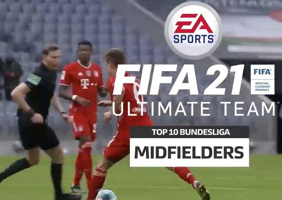 ویدیو| هافبک برتر بوندسلیگا در بازی فیفا 21