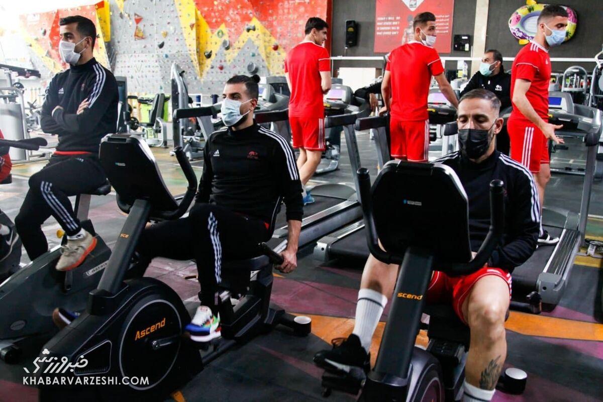 تمرین احسان حاج صفی زیر سایه شایعات