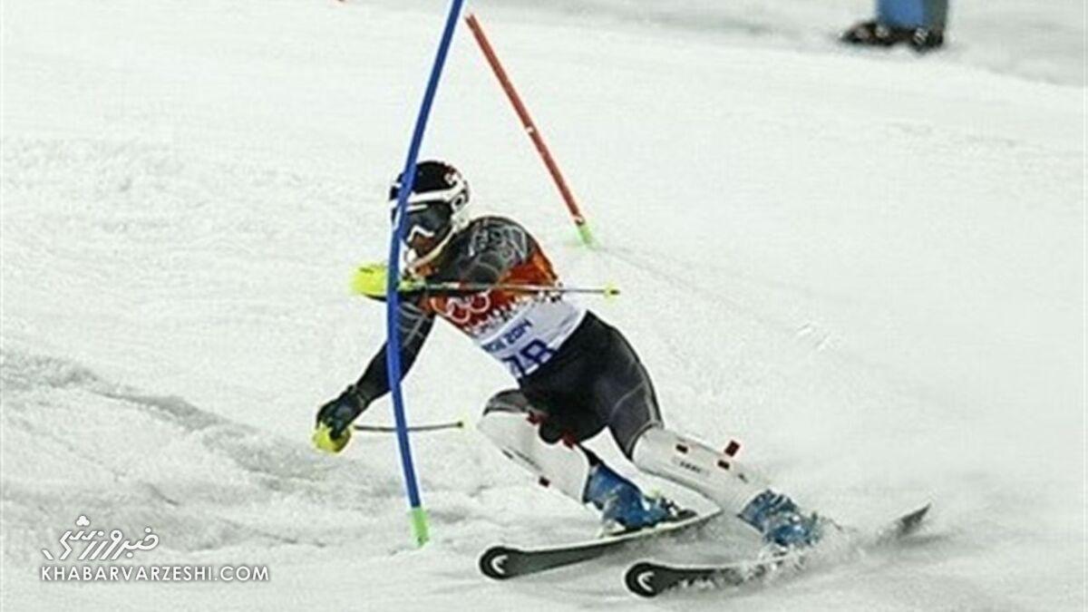 خداحافظی کاپیتان تیم ملی اسکی آلپاین