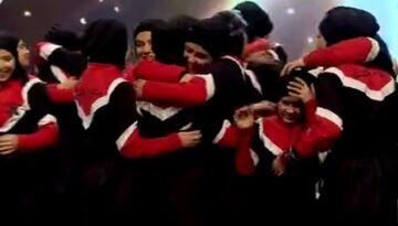ویدیو| شگفت زدگی داوران از اجرای فوق العاده دختران ستاره هشتم در فینال عصر جدید