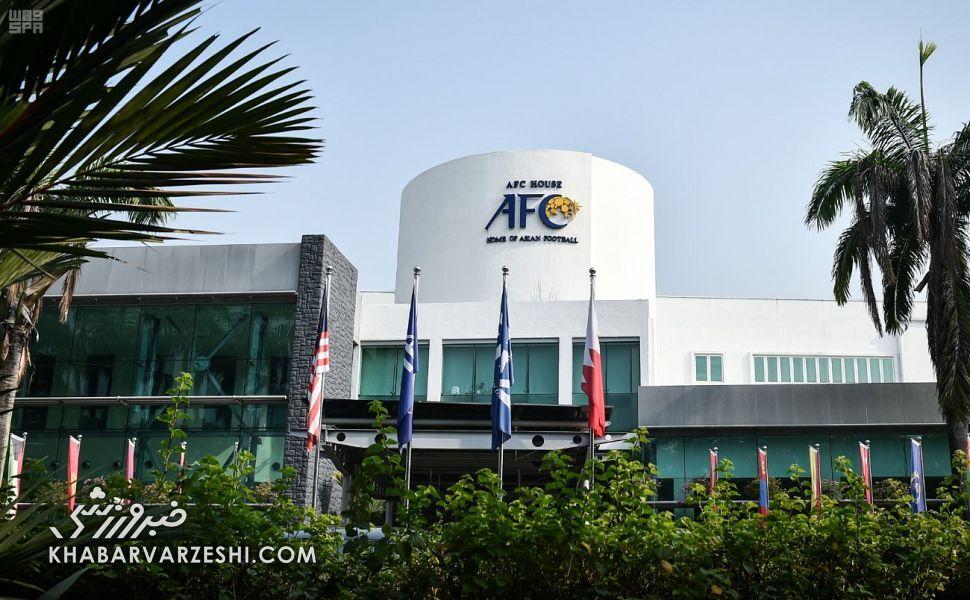 عکس  نامه فدراسیون فوتبال به دبیرکل AFC: عربستان برای میزبانی العین امن نیست