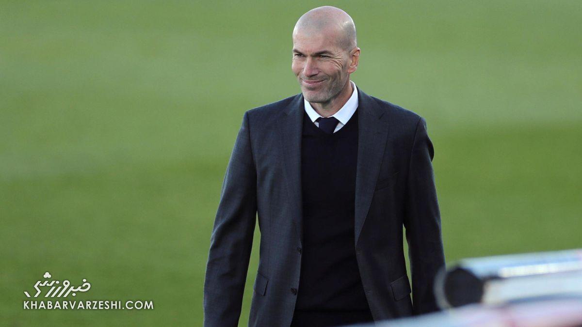 زیدان دومین مربی برتر رئال مادرید شد