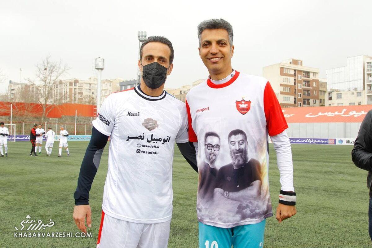 تصاویر تقابل دیدنی علی کریمی و عادل فردوسیپور