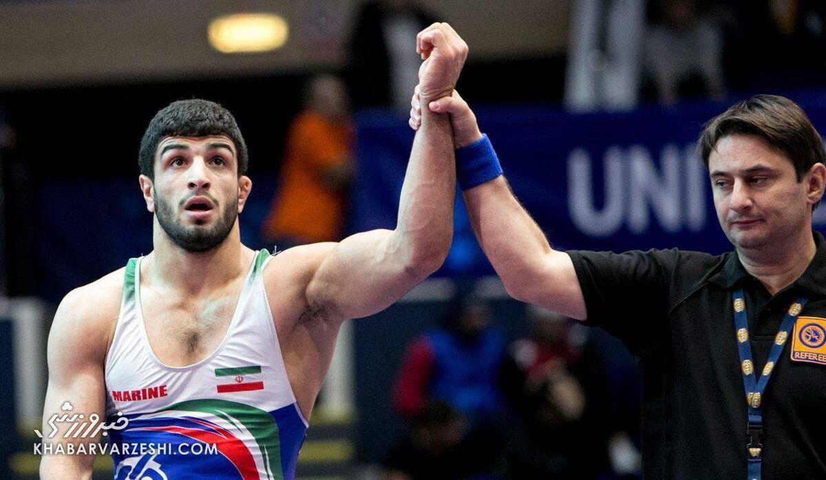 قاسمپور: یزدانی، پهلوان است و میتواند در المپیک توکیو طلا بگیرد