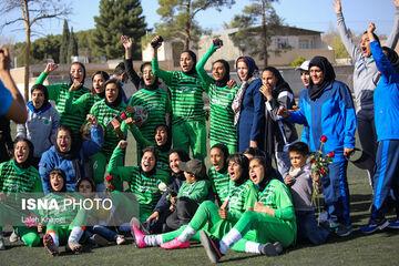 شاهکار سیرجانیها در لیگ برتر فوتبال زنان