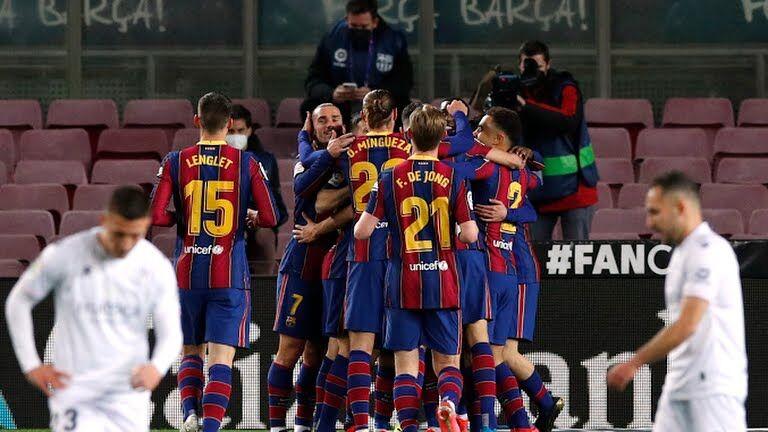 ویدیو  خلاصه بازی بارسلونا ۴-۱ اوئسکا