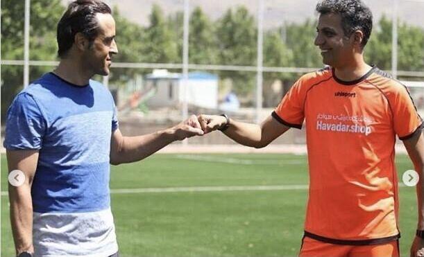 ویدیو  سحر زکریا: خوشحالم در کنار علی کریمی و عادل فردوسیپور هستم