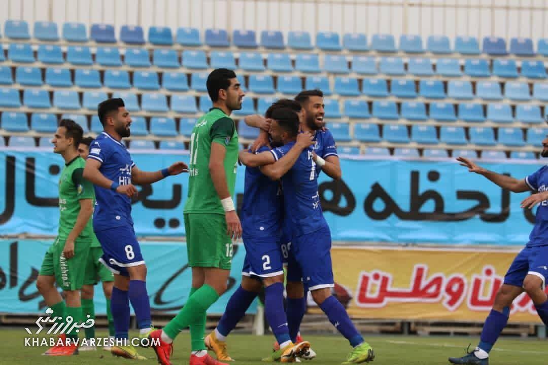 پیروزی ۲ گله استقلال مقابل ماشینسازی در نیمه اول