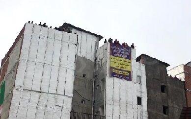 ویدیو| حضور هواداران نساجی روی پشت بام ساختمان های اطراف ورزشگاه