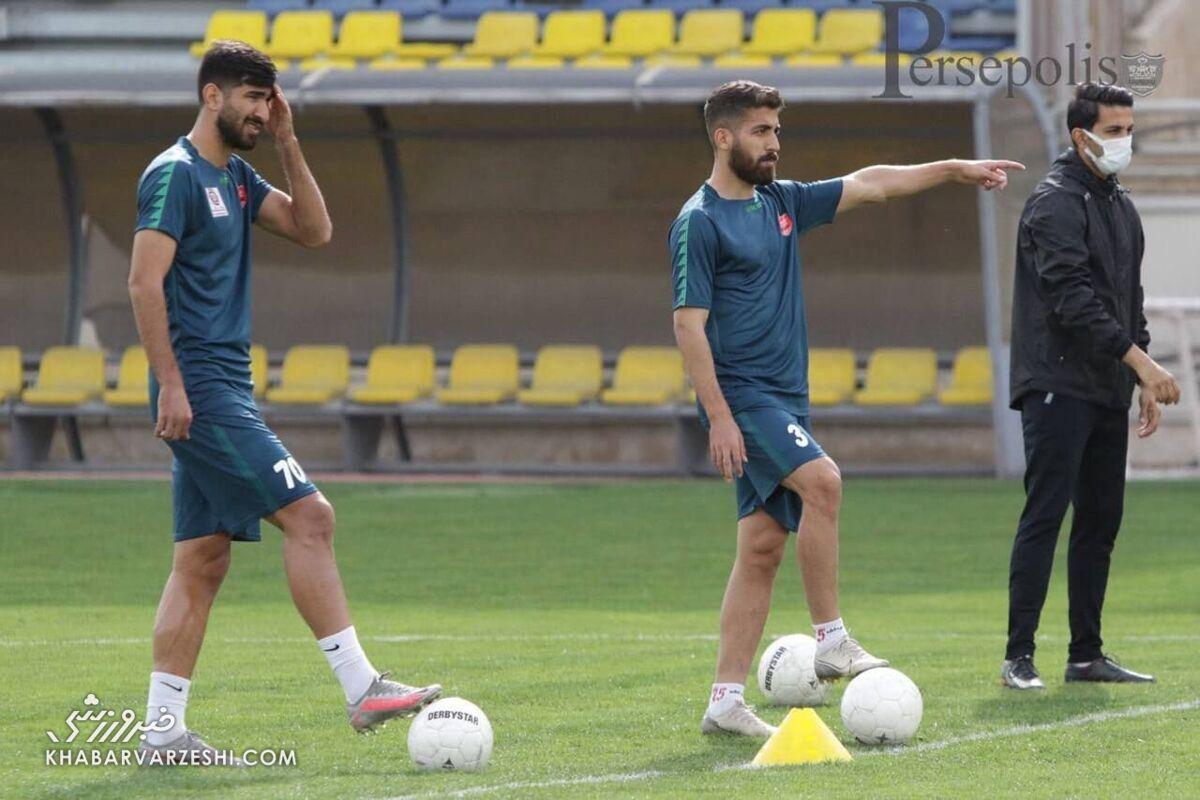 عکس| جنجال شماره پیراهن بازیکن جدید پرسپولیس