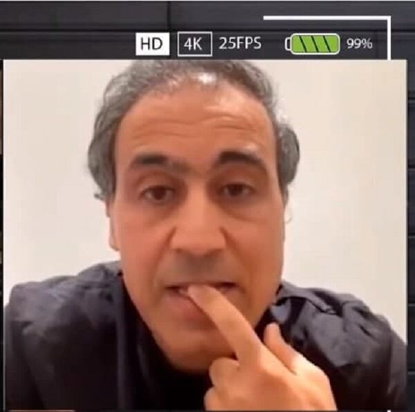 عکس و ویدیو  دومین گریه مهدوی کیا مقابل دوربین/ ماجرای اقدام یک ایرانی علیه اعتبار و آبروی کیا