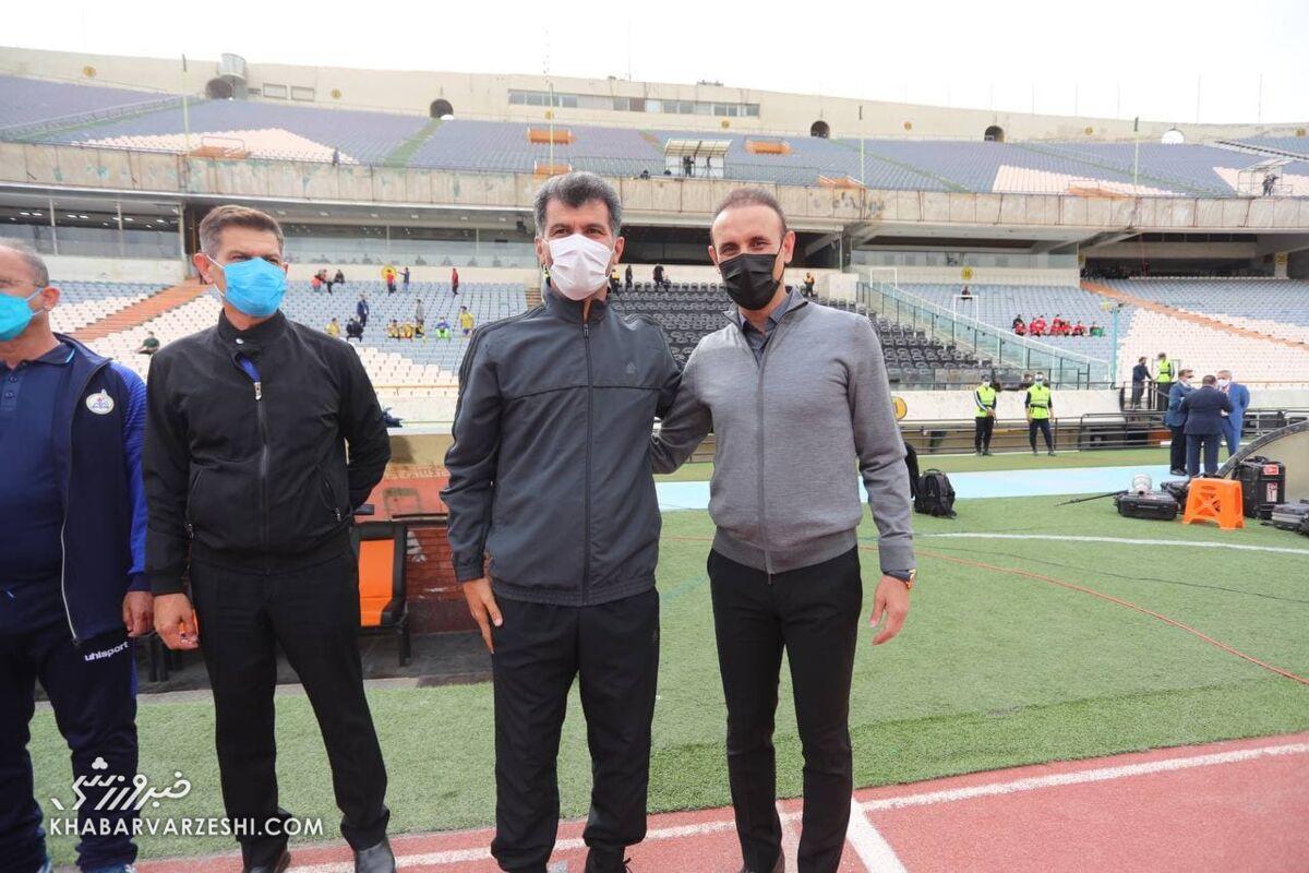 سرمربی نفتمسجدسلیمان: با اشتباهات فردی برابر پرسپولیس شکست خوردیم