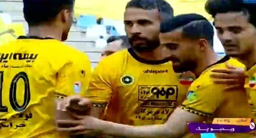 ویدیو| خلاصه بازی سپاهان ۲-۰ تراکتور
