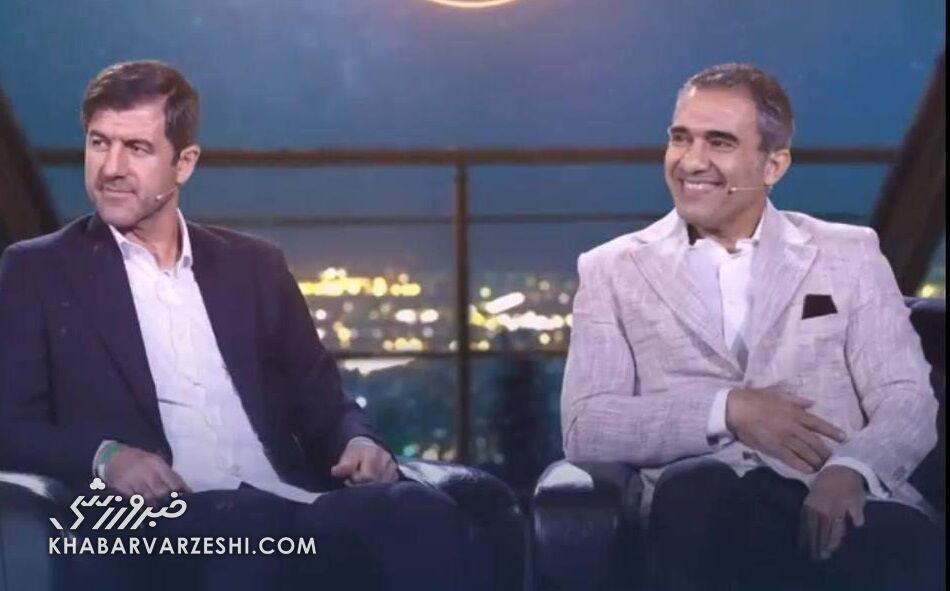 عکس| احمدرضا عابدزاده و کریم باقری در برابر شهاب حسینی