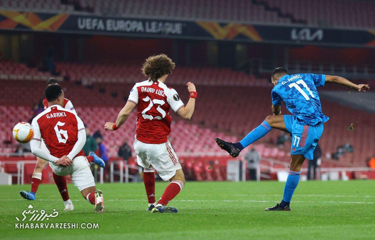 آرسنال و رم جواز صعود به مرحله یک چهارم لیگ اروپا را گرفتند