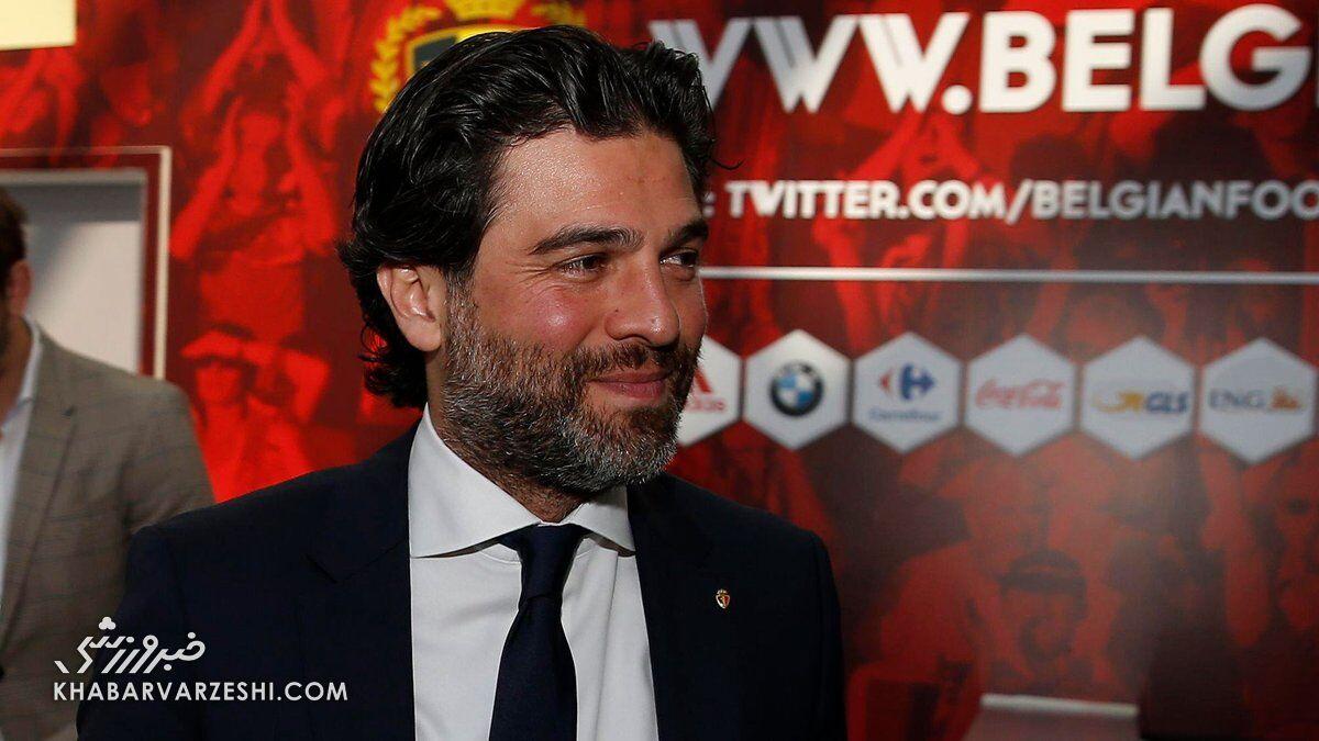 رئیس ایرانی فدراسیون فوتبال بلژیک هم به کرونا مبتلا شد